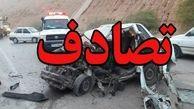 جان باختن یک نفر در تصادف جاده ارومیه