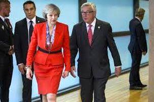 ترزا می با رئیس اتحادیه اروپا در حال رایزنی درباره برگزیت