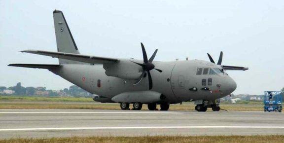 سقوط یک فروند هواپیمای آمریکایی در عراق