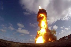 روسیه یک فروند موشک قاره پیما آزمایش کرد
