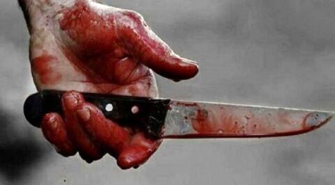 پدر عصبانی با چاقو به جان دخترش افتاد