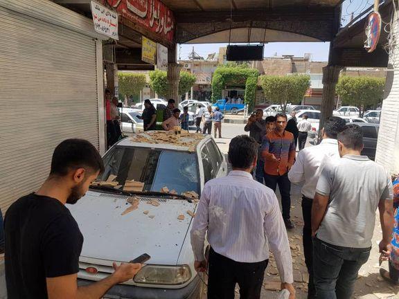 فیلم از زلزله خوزستان