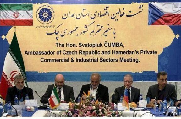 بستر سازی برای ورود شرکت های اقتصادی چک به ایران