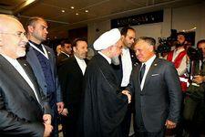 روجانی و پادشاه اردن با هم دست دادند/ آیا روابط دو کشور از سر گرفته می شود؟