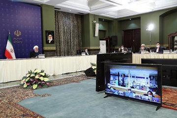 رئیس جمهور وضعیت شیوع کرونا در چهار استان را بررسی کرد