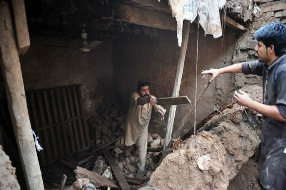 تعداد کشته شدگان سیل در پاکستان به ۳۹ نفر رسید