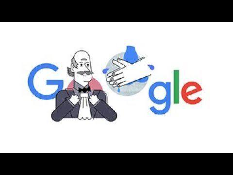 آموزش صحیح شستشوی دست در لوگوی گوگل/گوگل به دلیل شیوع کرونا لوگوی خود را تغییر داد