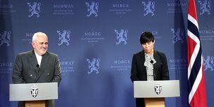 محورهای نشست ظریف و وزیر خارجه نروژ
