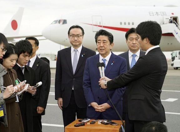 آبه شینزو در سفری 5 روزه راهی خاورمیانه شد