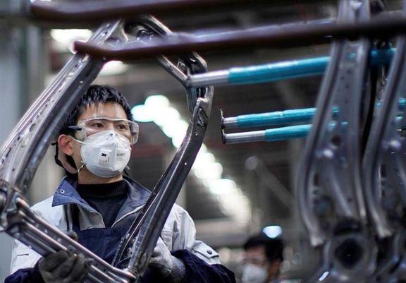 فعالیت کارخانجات چین به کمترین سرعت خود در ۱۷ ماه گذشته رسید