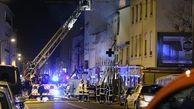 وقوع انفجار در لیون فرانسه جان یک مادر و کودک را گرفت