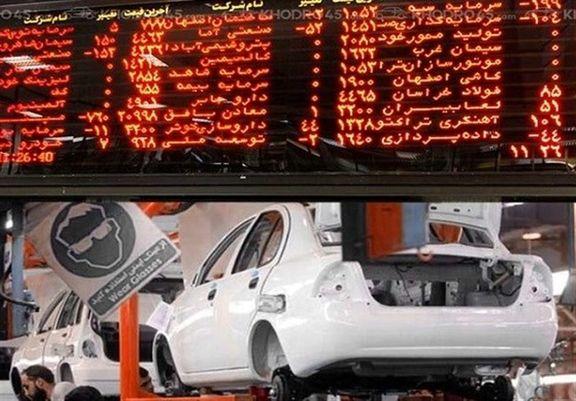 صنعت خودرو بیشترین حجم و ارزش معاملات بازار را به خود اختصاص داد