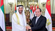 دیدار مقام بحرینی با محمد بن زاید