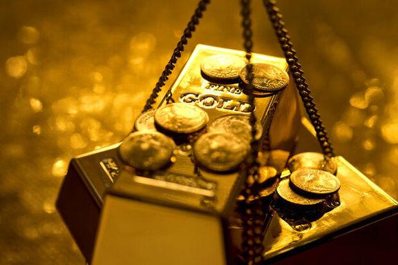 تمایل سرمایهگذاری در بازار سهام، قیمت طلای جهانی را کاهش داد