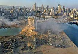 وقتی مادر لبنانی و سه فرزندش از پشت پنجره ناظر انفجار دیروز در بیروت بودند