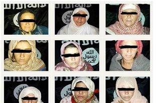 داعش  تصاویری از گروگانهای سوری را منتشر کرد