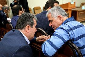 تصاویری از جلسه دادگاه پرونده پتروشیمی بازرگانی + عکس