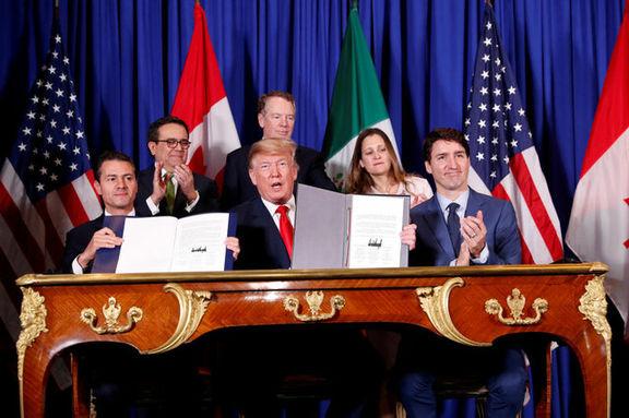 کالاهای وارداتی مکزیک به آمریکا شامل تعرفه نمی شوند